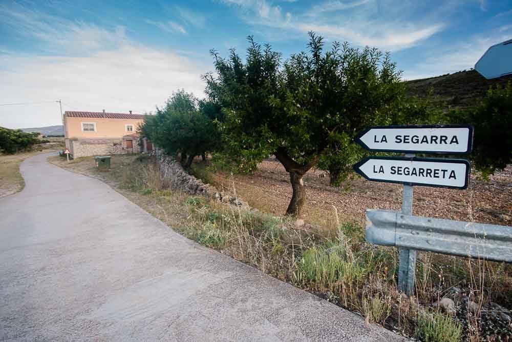Acceso a Mas de la Segarra