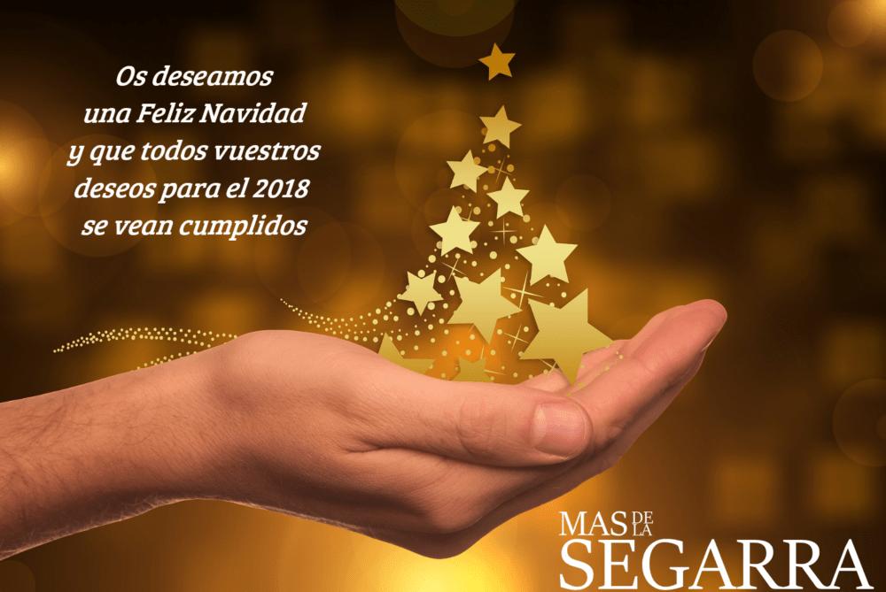 Feliz Navidad 2017 - Mas de la Segarra