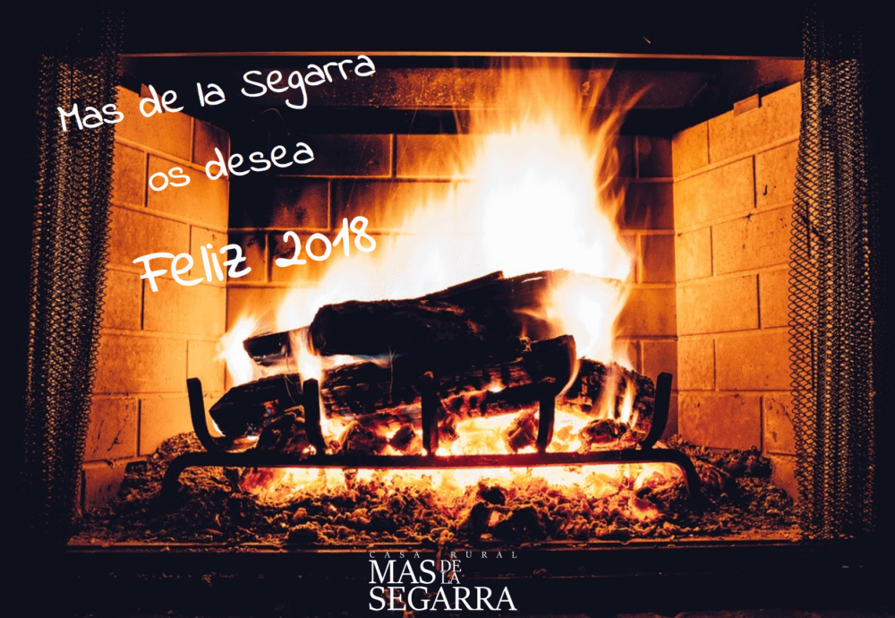 Feliz 2018 Casa Rural Mas de la Segarra